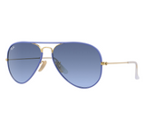 Ray-Ban RB3025JM Full Color Blue