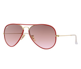 Ray-Ban RB3025JM Full Color Red
