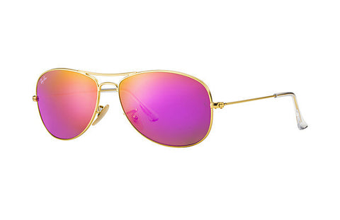 Cockpit Flash Lenses (Gold/Cyclamen Mirror) [IN STOCK - NEXT DAY DELIVERY]