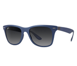 Ray-Ban Wayfarer Liteforce Gray Gradient (Blue frame / Gray Gradient lenses)