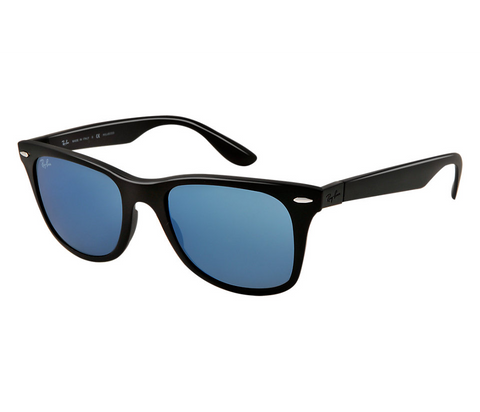large frame ray ban wayfarer  Ray-Ban Wayfarer Liteforce RB4195 \u2013 Singapore Top 10 Shades