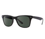 Ray-Ban Wayfarer Liteforce Green Classic G-15 (Black frame / Polarized Green Classic G-15 lenses)