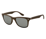 Ray-Ban Wayfarer Liteforce Gray Mirror (Brown frame / Gray Mirror lenses)