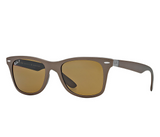 Ray-Ban Wayfarer Liteforce Brown Classic B-15 (Brown frame / Polarized Brown Classic B-15 lenses)