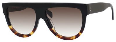Céline 41026/S (Black & Havana Tortoise frame / Brown Gradient lenses)