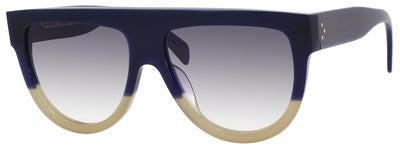 Céline 41026/S (Blue & Sand frame / Grey Gradient lenses)