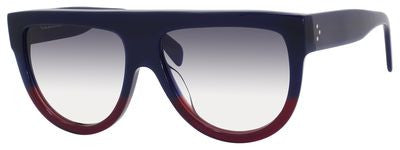 Céline 41026/S (Blue & Burgundy frame / Grey Gradient lenses)