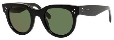 Céline 41053/S (Black frame / Green lenses)