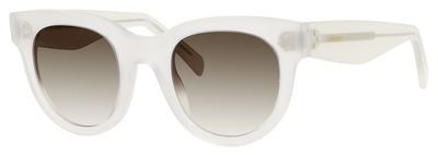 Céline 41053/S (Opal frame / Brown Degrade lenses)