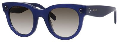 Céline 41053/S (Blue frame / Brown Degrade lenses)