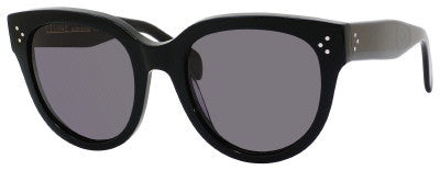 Céline 41755/S (Black frame / Smoke Polarized lenses)