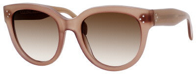 Céline 41755/S (Opal & Brown frame / Brown & Grey Gradient lenses)