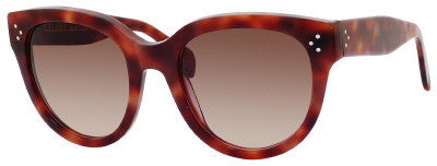 Céline 41755/S (Havana frame / Brown Gradient lenses)