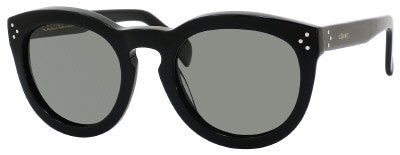 Céline 41801/S (Black frame / Grey Polarized lenses)