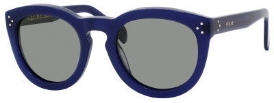 Céline 41801/S (Blue frame / Grey Polarized lenses)