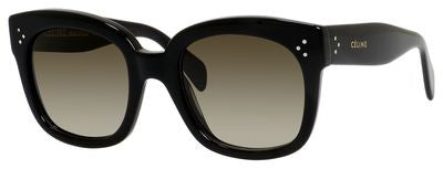 Céline 41805/S (Black frame / Brown Gradient lenses)
