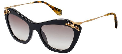 Miu Miu 03PS Glow (Black frame / Grey Gradient lenses)