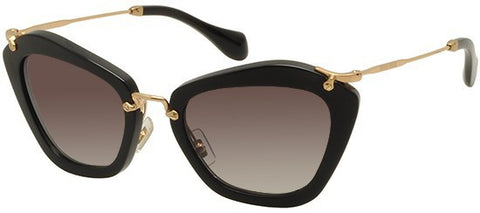 Miu Miu 10NS (Black frame / Grey Gradient lenses)