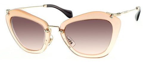 Miu Miu 10NS (Glitter & Orange Gradient frame / Pink Gradient lenses)