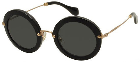 Miu Miu 13NS (Black frame / Grey lenses)