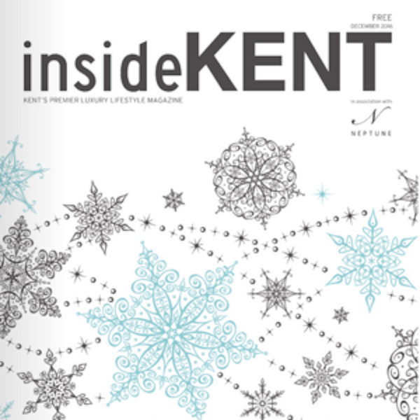 Inside Kent Magazine - Silver & Cream Watch - fte3004 - Freedom To Exist