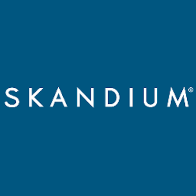 Skandium - London - Scandi Design - Square Blue Logo - Freedom To Exist - Luxury Minimalist Watches