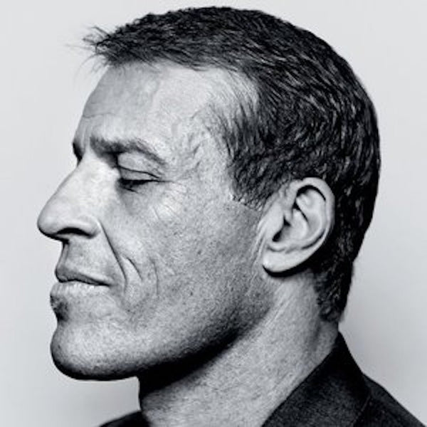 Tony Robbins - Netflix Movie - Headshot - Freedom To Exist - Luxury Unbranded Minimalist Watches
