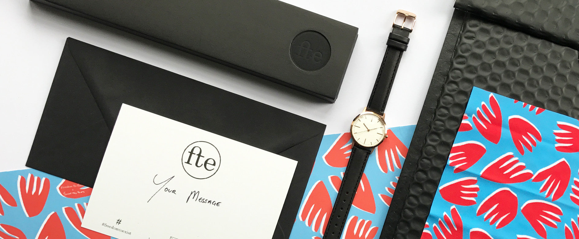 Sunny Todd Prints - Freedom To Exist - Minimalist Watches