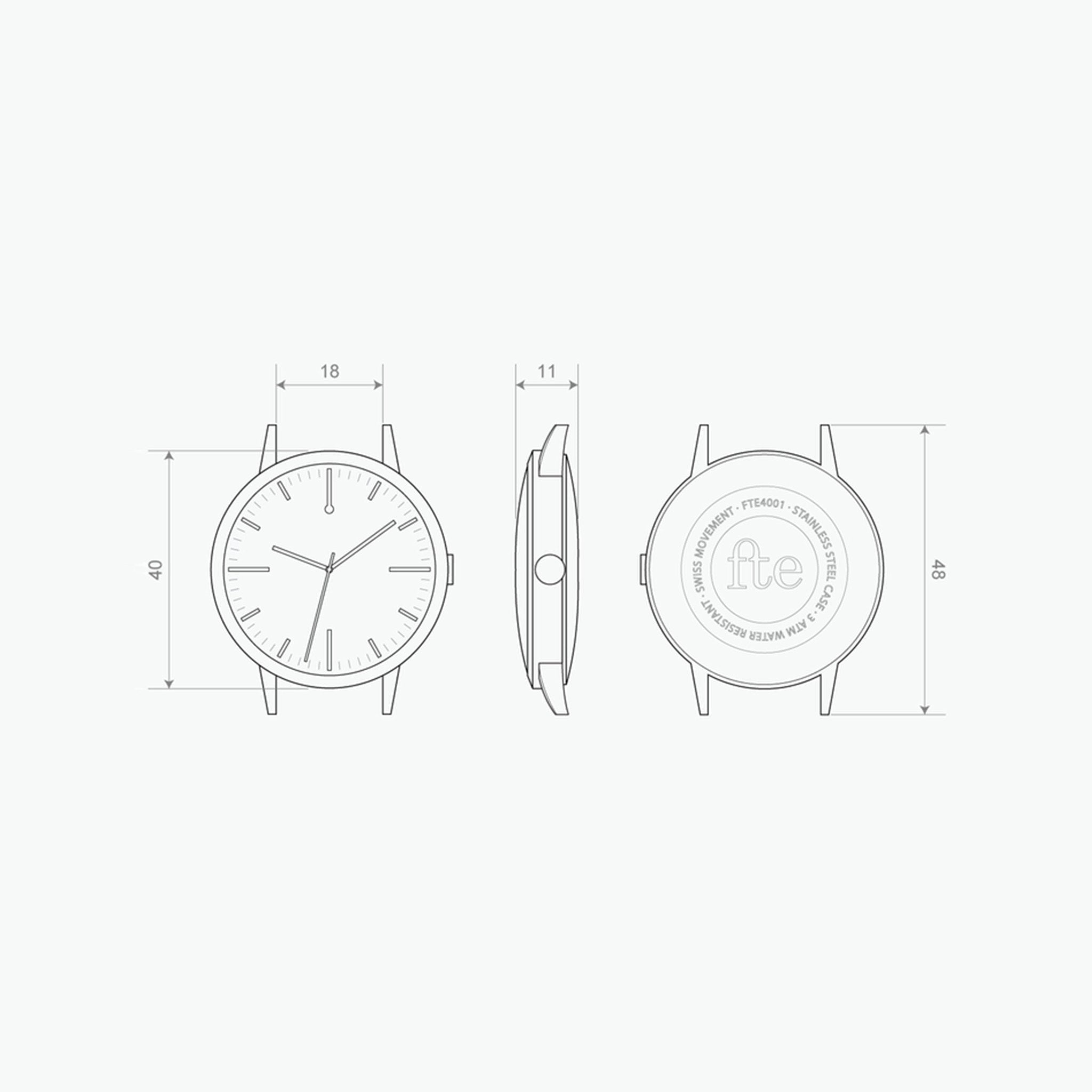 Freedom To Exist - Watch Drawing - 40mm - 40 Edition