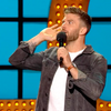 joel dommett live at the apollo comedian silver brown simple mens-minimal watch freedom to exist