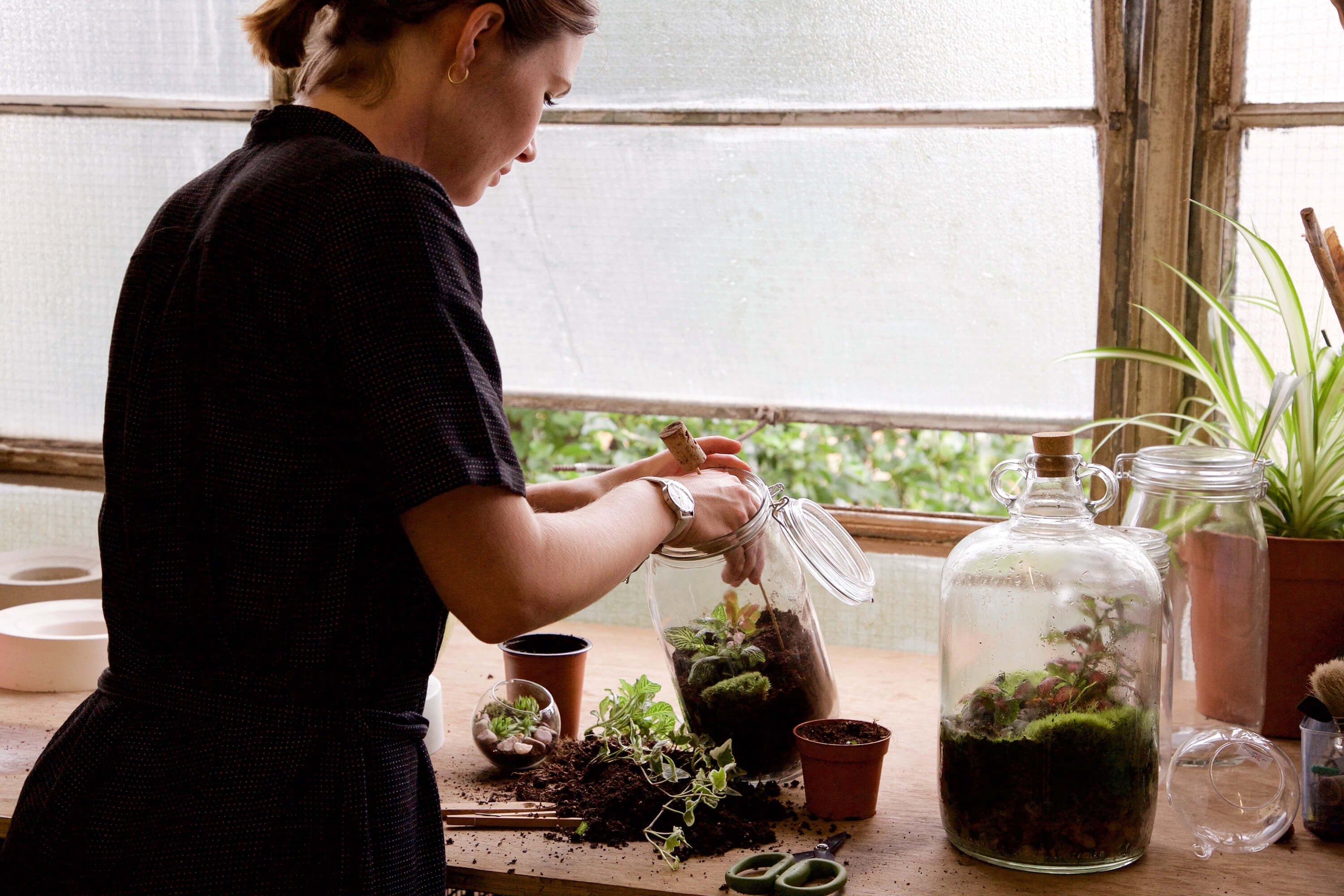 London Terrariums - Emma Sibley - New Cross - Eco Gardening