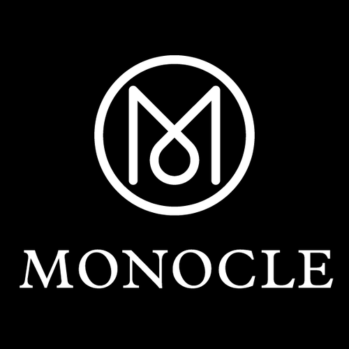 Monocle Logo - Freedom To Exist - Entrepreneurs Podcast - Kirsty Whyte and Paul Tanner
