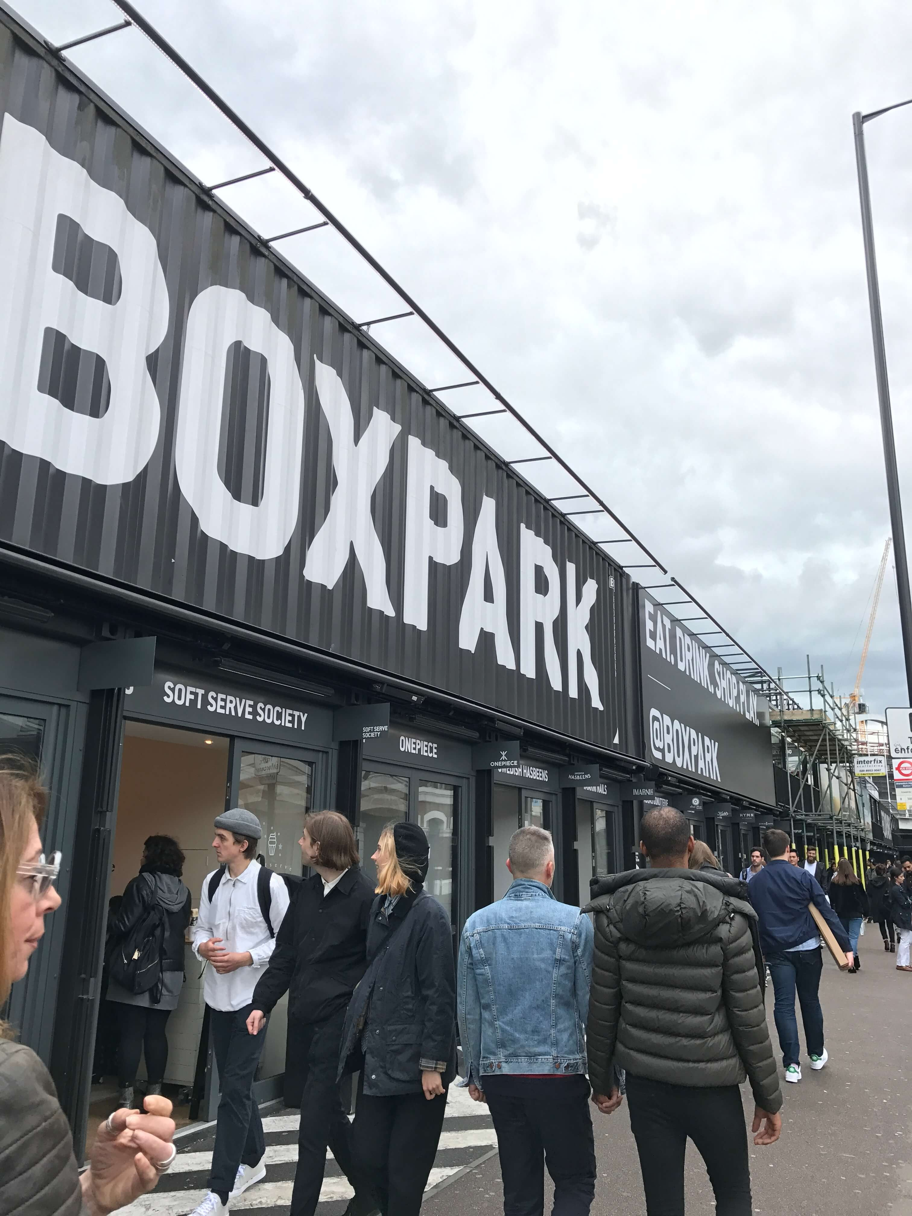 The Pommier - Shoreditch Boxpark - May 2017 - Freedom To Exist