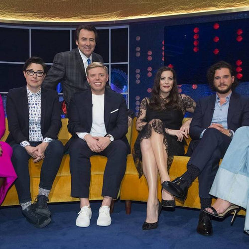 Spotted - Freedom To Exist Watch - Rob Beckett - Jonathan Ross - Sue Perkins and Kit Harrington - Liv Tyler - UK Chat Show