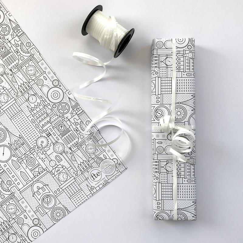 Free custom gift wrapping by The City Works and Sunny Todd prints in collaboration with Freedom To Exist