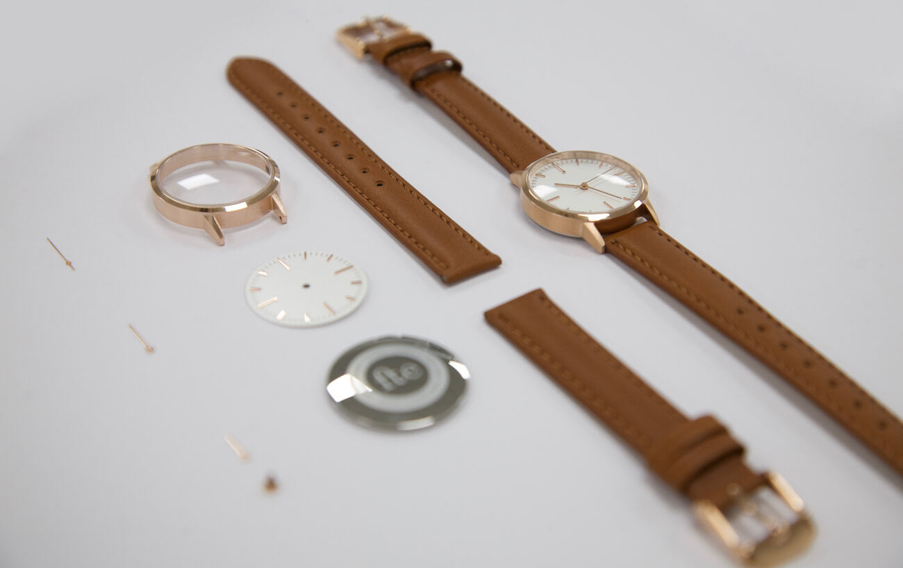 Watch Lab Visit - Rose Gold & Tan ladies Watch - Freedom To Exist - behind the scenes
