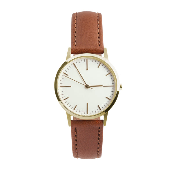 fte3202 | Gold & Tan Watch