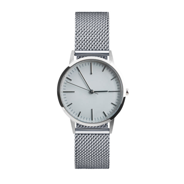 fte3005M | Silver & Grey Mesh Watch