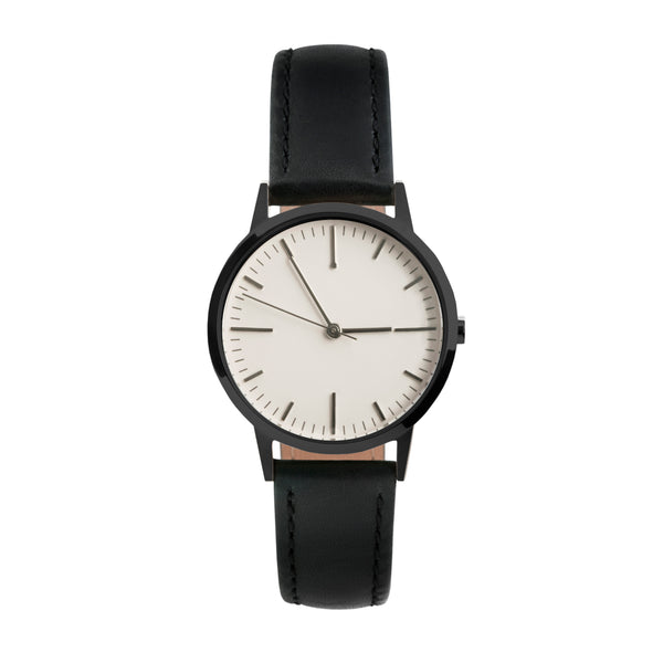 Black & White ladies watch - no logo - unbranded - freedom to exist
