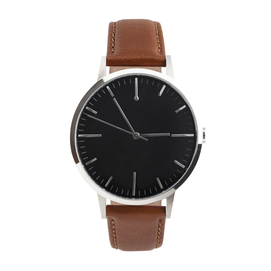 black diamond p luxurman plain mens by watches