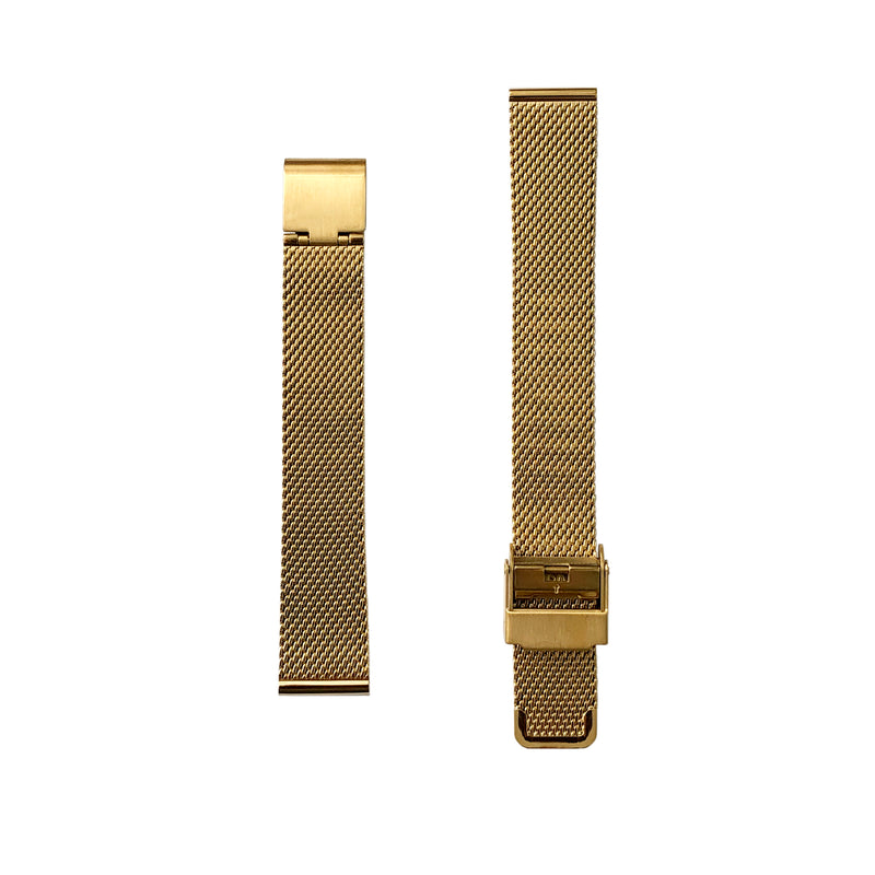 Milanese Mesh - Gold Watch Strap - 15mm - Replacement - Under £30