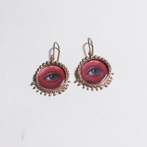 Teary  Eye Earrings