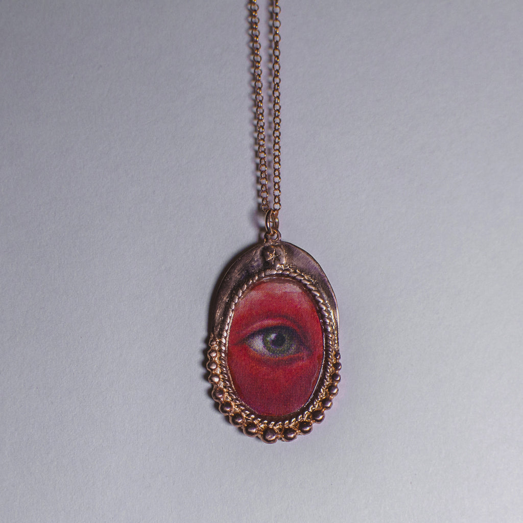 Teary Eye Necklace