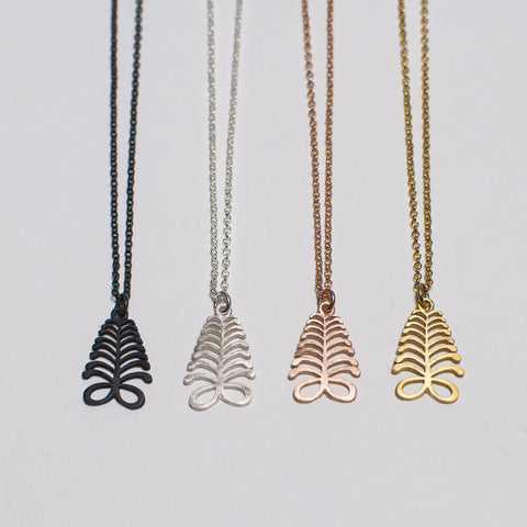 The Aya Fern Chain Necklace