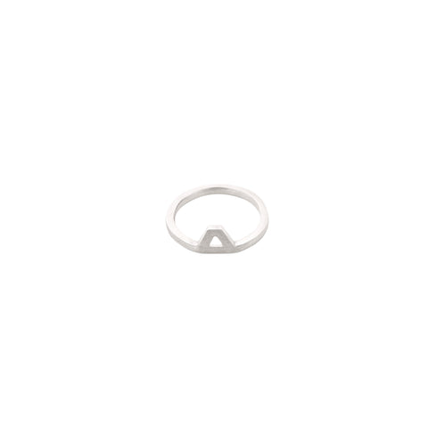 Triangle Ring Small With No Point