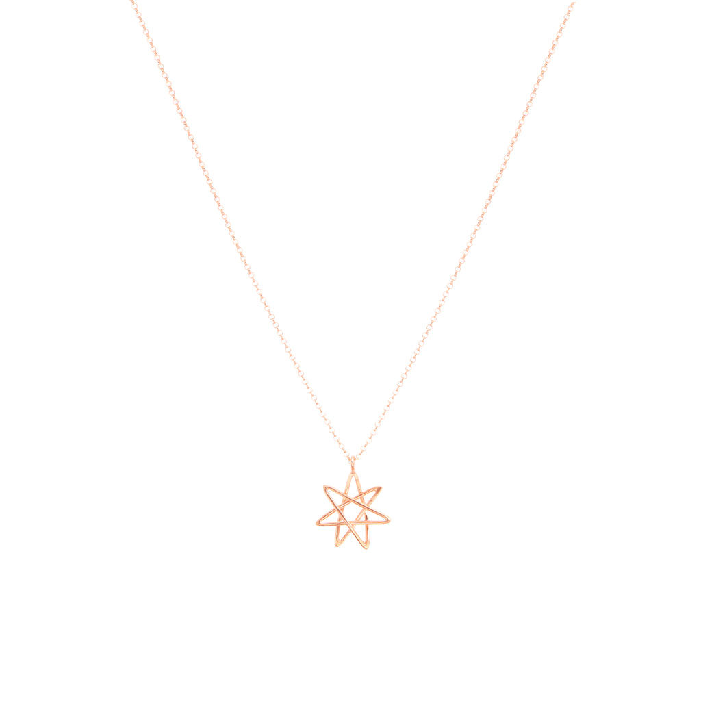 Heptagram necklace paul sarz jewellery heptagram necklace aloadofball Choice Image