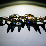 Triangle enamel rings
