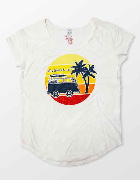 Shorty Bus Tee (Womens)
