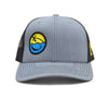 Smiley Hat (Grey/Black)