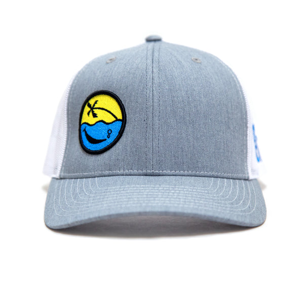 Smiley Hat (Grey/White)